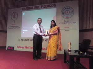 Dr R. Prema  attended national midterm infectious dis CME