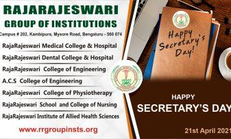 21st april sectretarys day RRGI