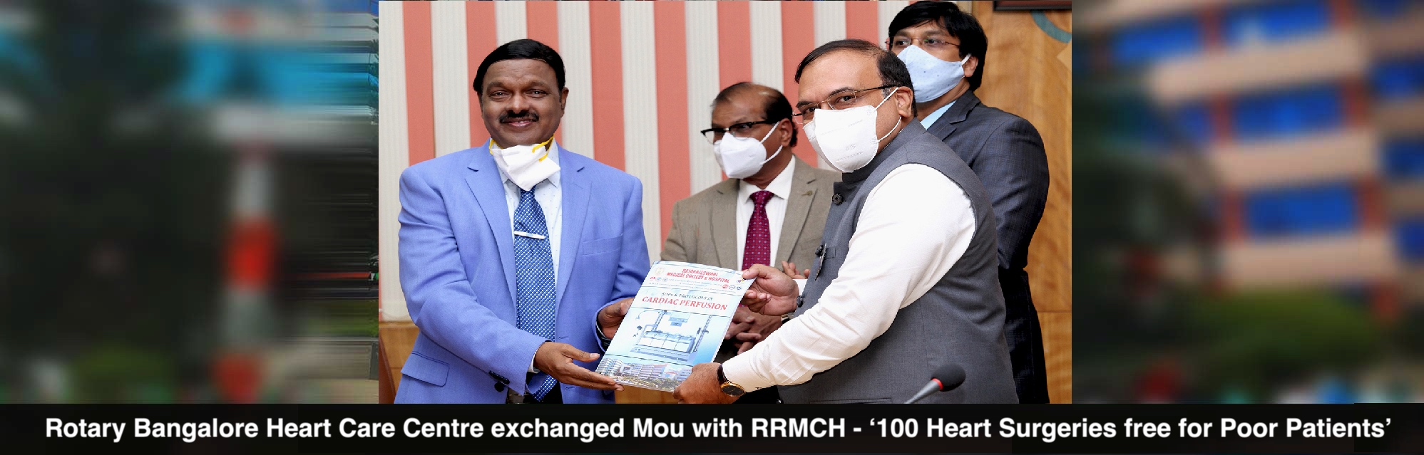 Rotary MOU with RRMCH